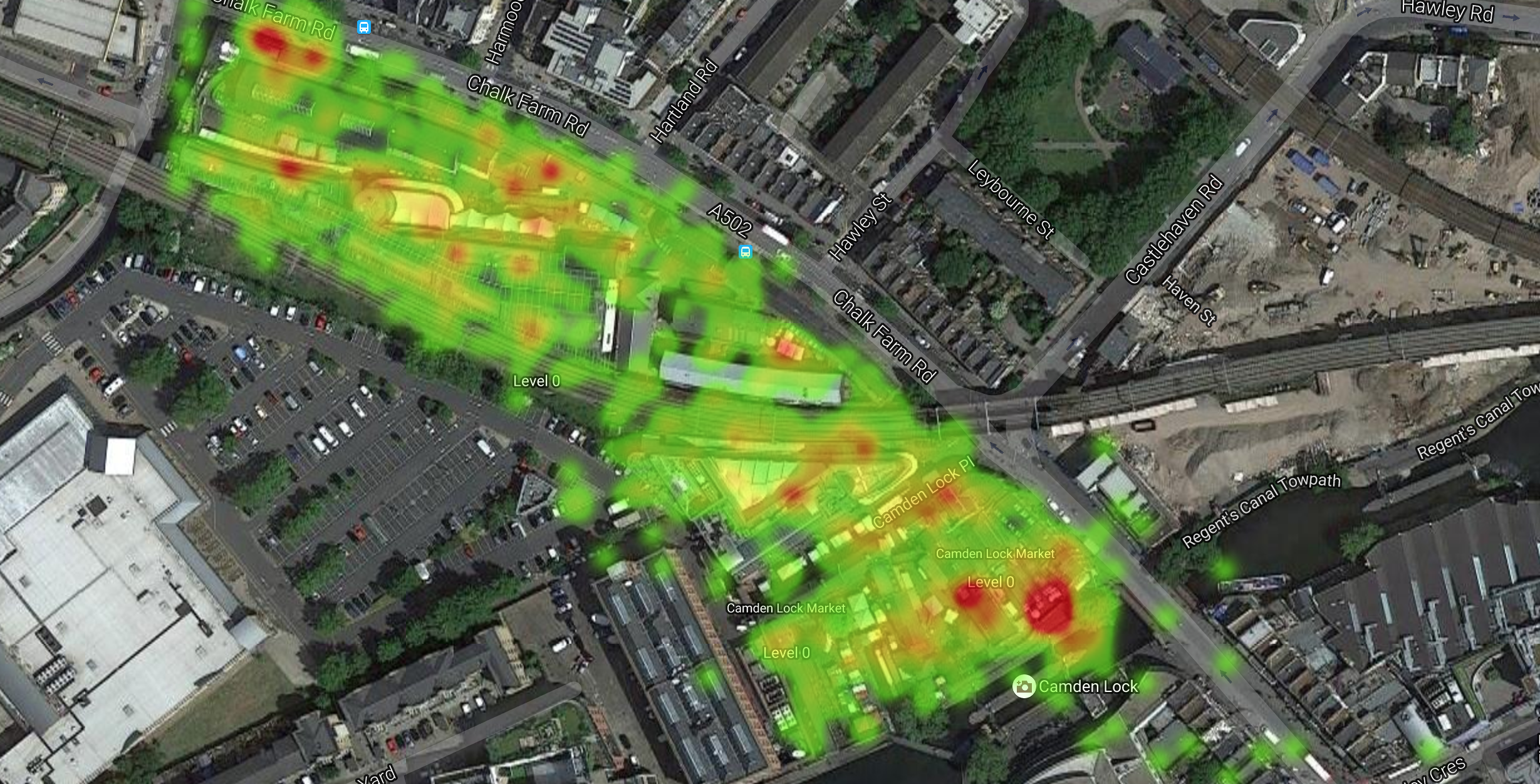 Camden Market launches social Wi-Fi system to track footfall